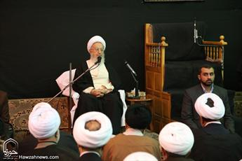 تصاویر/ دیدار قضات دادگاه ویژه روحانیت با آیت الله العظمی مکارم