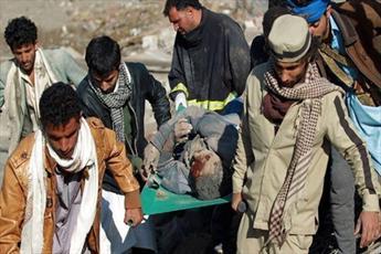 ۴ شهید و ۵ زخمی در تازه ترین جنایت سعودیها در یمن
