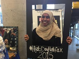بانوان غیر مسلمان کانادا، محجبه شدند + تصاویر