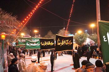 برنامه دسته عزاداري زائران ايراني در كربلا اعلام شد