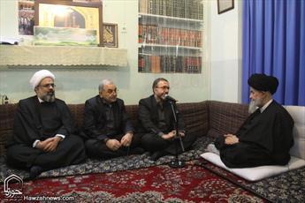 تصاویر/ دیدار معاون امنیتی و انتظامی وزیر کشور با مراجع عظام