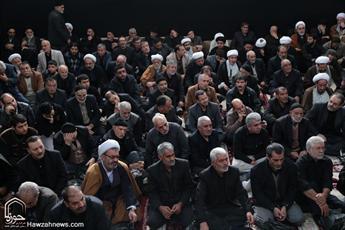 تصاویر/ مراسم عزاداری اربعین سید و سالار شهیدان در بیوت مراجع و علما(۱)