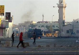 ملت بحرین بر سرنگونی رژیم حاکم تاکید دارد