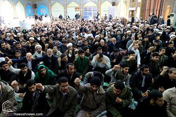 تجمع اعتراضی طلاب و روحانیون مدارس علمیه اهواز