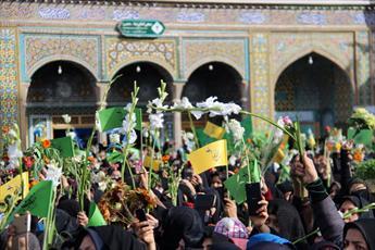 علت ورود حضرت معصومه (س) به ایران چه بوده است؟