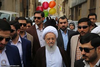انقلاب اسلامی مستحکمتر از همیشه به راه خود ادامه می دهد/ تقدیر از حضور پرشور مردم