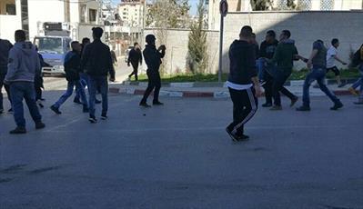 درگیری های شدید در رام الله؛ ۲۰  فلسطینی زخمی شدند