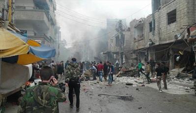 انفجار خونین در زینبیه سوریه/ ۲۲ شهید و دهها زخمی