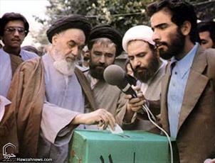 تصاویر/مراجع فقید و علمای گذشته پای صندوق های رأی