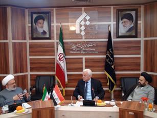 بازدید سفیر عراق از دانشگاه مجازی جامعه المصطفی(ص)