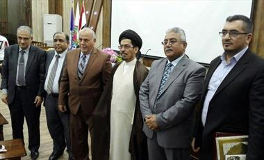 سخنراني رييس پژوهشكده حج در مراكز علمي عراق