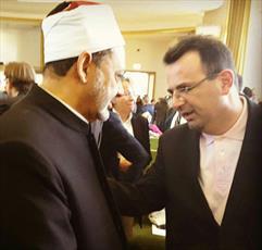 عکس / دیدار رایزن فرهنگی ایران در برلین با شیخ الازهر
