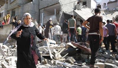 ۷۵ هزار فلسطینی در غزه بدون سرپناه هستند