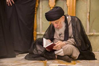 آیت الله حکیم علی رغم محدودیت شدید زندان، از آموزش علمی و تربیتی دست برنداشتند