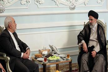دکتر ظریف با تولیت آستان قدس رضوی دیدار کرد