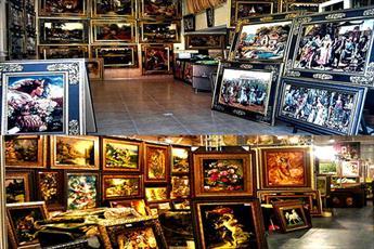 حکم خرید و فروش فرش با تصاویر مبتذل