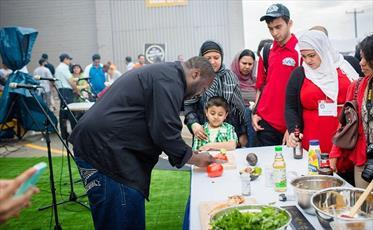 بزرگترین جشنواره غذای حلال در کانادا برگزار می شود