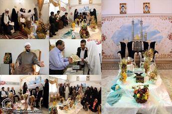 برگزاری بیش از ۹۰۰ مراسم عقد ازدواج  طی ۶ ماه در حرم مطهر بانوی کرامت