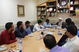 بازدید جمعی از دانشجویان شیعه هندی از دانشگاه ادیان و مذاهب
