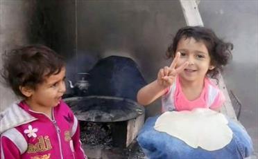 خطر قحطی برای ۴۰ هزار مسلمان سوری در ماه مبارک رمضان