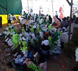 مراسم پایان سال تحصیلی در مدرسه امام زین العابدین(ع) سنگال