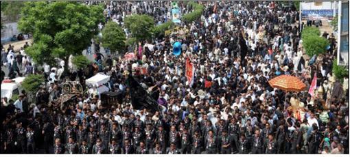 تدابیر شدید امنیتی برای مراسم عزاداری امیرالمومنین در کراچی