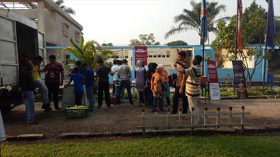توزیع روزانه بیش از ۲ هزار بسته افطاری در کنگو+ تصاویر