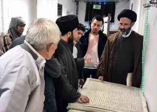 نمایشگاه قرآن در کانون فرهنگی یاس شهر گوتنبرگ سوئد برگزار شد+عکس