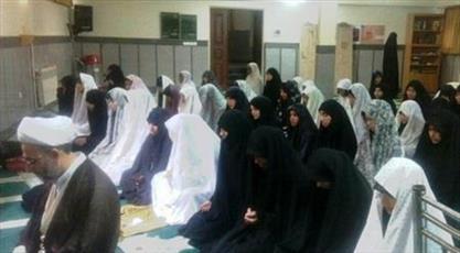 اعتکاف صدها طلبه المصطفی در ایران و ۴۰کشورجهان
