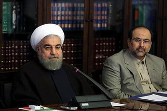 تبریک رئیس جمهور به مدیر جدید حوزه و تقدیر از آیت الله حسینی بوشهری