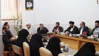 نشست  معاون آموزش  المصطفی(ص) با مسئولان مؤسسه    بنت الهدی