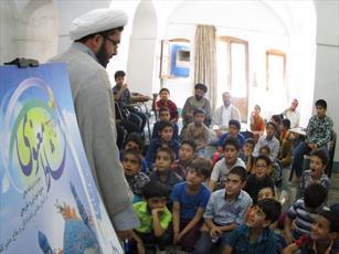 دانش آموزان یزدی از مدرسه علمیه خان یزد بازدید کردند