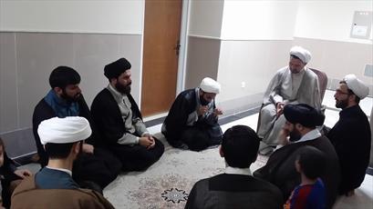 بازدید معاون تهذیب حوزه های علمیه از اردوی تابستانی موسسه فقه و اصول