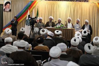 تصاویر/ کمیسیون های همایش نقش «بسیج روحانیت» در تقویت حوزه انقلابی