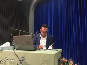 تصاویری از اختتامیه چهارمین دوره مسابقات قرآن کریم در شمال اروپا