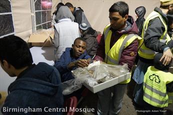 بانک غذای بیخانمانها در مسجدی در انگلیس افتتاح شد