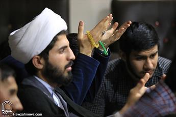 میثاق نامه بسیجیان و کارکنان مرکز مدیریت حوزه با سردار سلیمانی