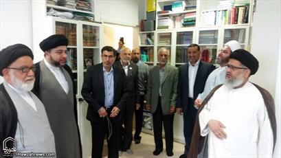 تصاویر بازدید نماینده آیت الله سیستانی از مراکز اسلامی اسلو