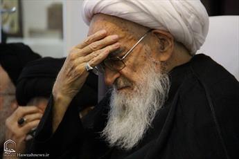 تصاویری از مراسم شهادت امام محمد باقر(علیه السلام) در بیوت مراجع و علما