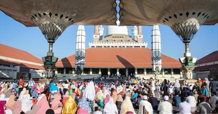 عید سعید قربان در نقاط مختلف جهان اسلام+تصاویر
