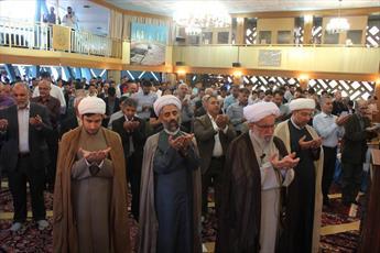 گزارش رسیده از نماز عید قربان در هامبورگ + تصاویر