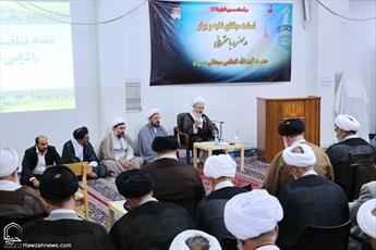 تصاویر/ نشست مبلغان نخبه و برتر دفتر تبلیغات با حضرت آیت الله سبحانی
