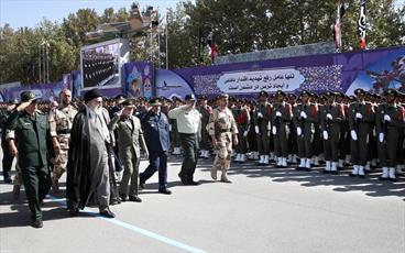 تصاویر/ مراسم دانشآموختگی دانشجویان دانشگاههای افسری ارتش با حضور فرمانده کل قوا
