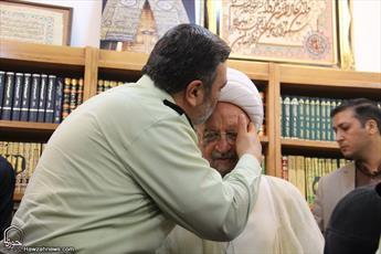 تصاویر/ دیدار فرمانده ناجا با مراجع و علما