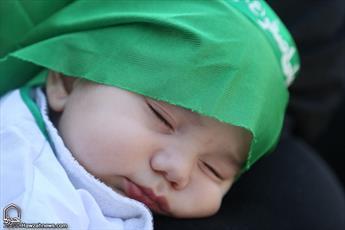 توزیع ۷۰ هزار لباس ویژه همایش شیرخوارگان حسینی