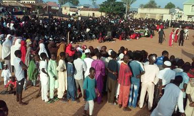 تصاویری از مراسم تعزیه و شبیه خوانی در  نیجریه