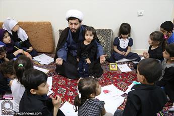 مهدکودک «یاران کوچک حسین»؛ محفلی برای کودکان عاشورایی+ عکس