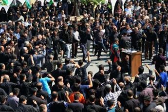 تجمع  بزرگ عزاداران  بوشهری در روز تاسوعا