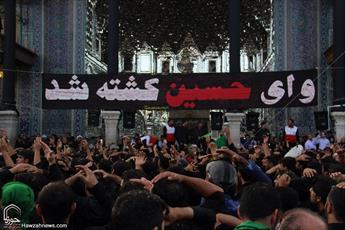 تصاویر/ سوگواری عزاداران امام حسین  علیه السلام در عصر عاشورا