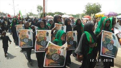 عزاداری عاشورای نیجریه در بیش از ۲۰ شهر برگزار شد+تصاویر